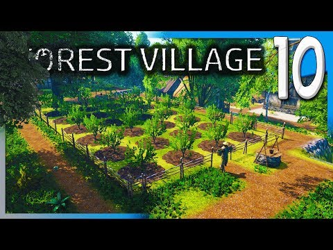 ORCHARDS AND MORE HOUSING! | Life is Feudal: Forest Village Let's Play/Gameplay S2E10