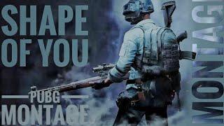 Shape of You - Pubg Gun Beat Sync || TDM MONTAGE || M24 \u0026 KAR98K ||