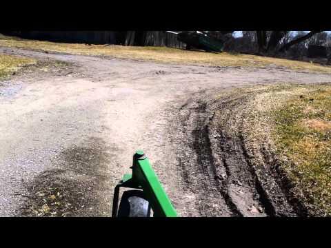 Short Drive On The John Deere 1545