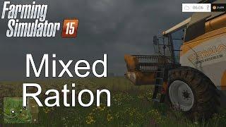 Farming Simulator '15 Tutorial: Mixed Ration