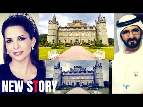 This is the moment Dubai Princess Haya bint-Hussain decided to flee