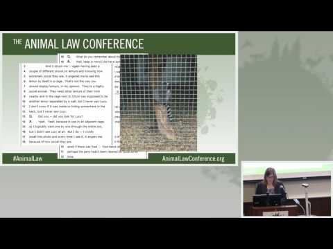 Animal Law Conference 2016 - 10 - Captive Wildlife 10-09-16