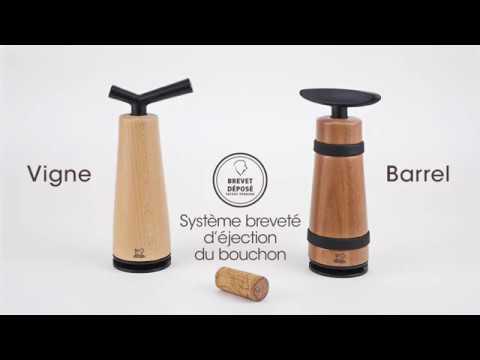 vigne barrel tire bouchons peugeot saveurs youtube. Black Bedroom Furniture Sets. Home Design Ideas