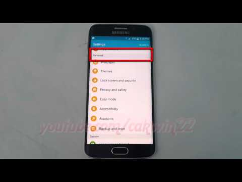 Android Lollipop : How to Turn off Auto Refresh Weather on Samsung