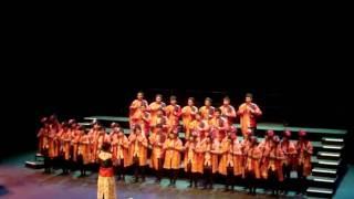 Sixers Voice Choir singing an Indonesian Traditional song SIK, SIK, SI BATU MANIKAM