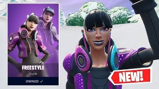 NEW FREESTYLE Skin Gameplay in Fortnite!