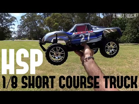 HSP 1/8 SHORT COURSE 4WD 3000KV Brushless RC - First Run On 3s - Solid Performer