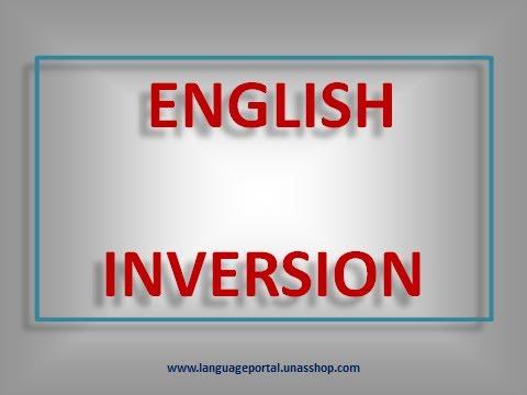 English Grammar by Csaba Mező - Inversion - YouTube