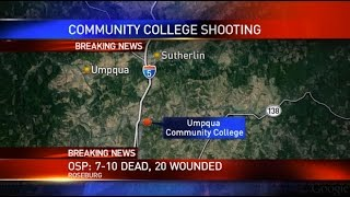 Live stream: Community college shooting in Roseburg, Oregon