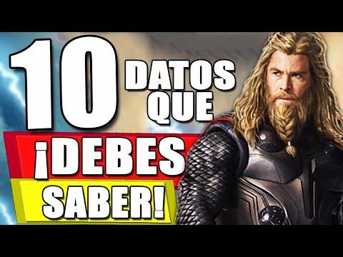 ¡PODEROSO! 10 Datos QUE DEBES SABER sobre Thor: Love and Thunder