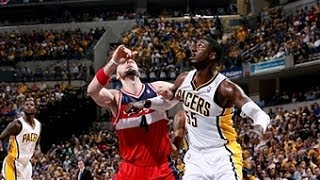 Roy Hibbert is BACK with a Vengeance for Game 2!