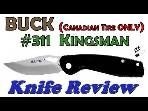 SPECIAL EXTREME sale!! Only $10CAD = $7USD!!! BUCK #311 Kingsman Full Review.