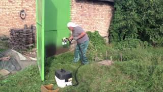 Электрический краскопульт Wagner wall perfect  867  краска пф 115