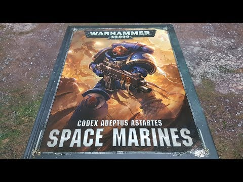 8th edition Codex Space Marines; review