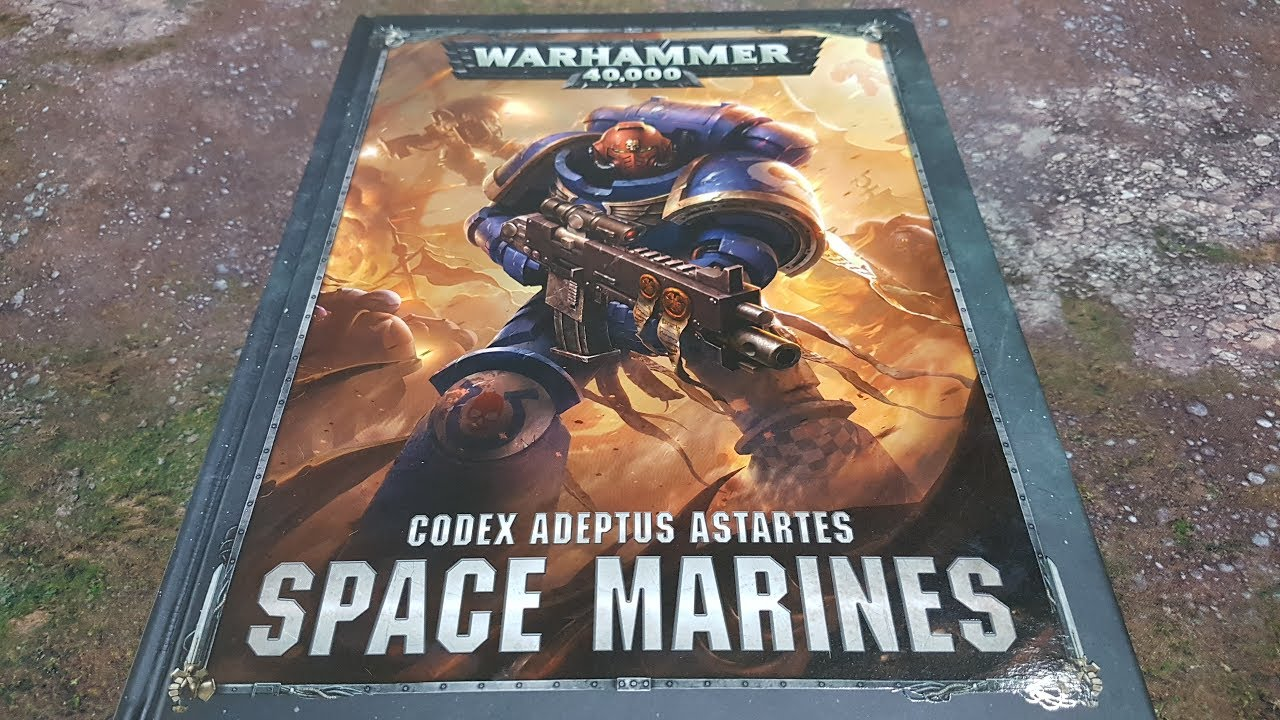 8th edition Codex Space Marines