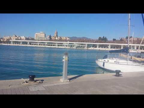 Malaga - Spain - A stroll in the Port area #malaga #малага #spain