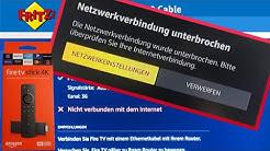 """FireTV """"Netzwerkverbindung unterbrochen"""" / """"nicht verbunden mit dem Internet"""" Fritzbox Gast  Amazon"""