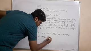 Cgpsc state engineering services online classes subject 7 EE lecture 6 Sewage &its treatment part 6
