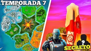 *SEASON 7*NEW SECRETS OF GAME PARTAND AND CONCEPT OF THE FUTURE MAP *Fortnite theories*