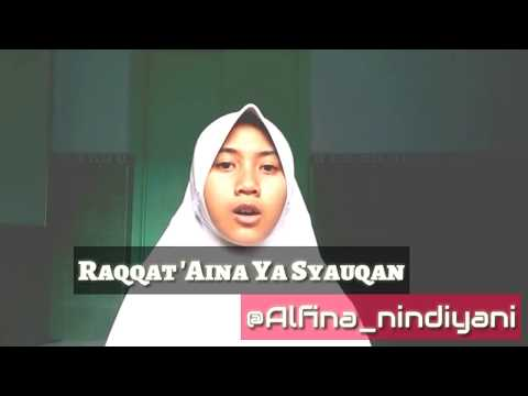 THE BEST Alfina Nindiyani   Lantunan Sholawat VIDGRAM Terbaru Raqqat 'Aina Ya Syauqon