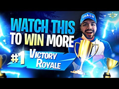 WATCH THIS TO WIN MORE IN FORTNITE!!! - Coach CouRage! (Fortnite: Battle Royale)