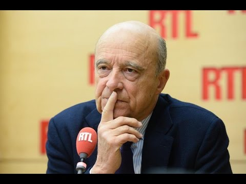 Alain Juppé était l'invité de RTL le 14 novembre 2016