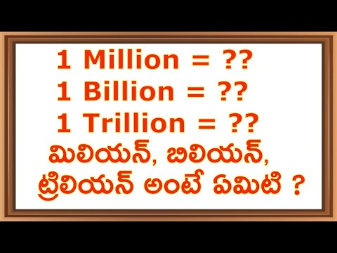 Million, Billion, Trillion I Sagar Talks