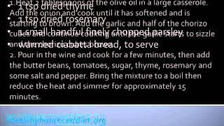 Vegetarian Chorizo And White Bean Stew