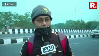 Residents Of Delhi Continue To Suffer Due To High Air Pollution Levels