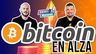 Jack Garzón explica subida del Bitcoin en el podcast de Jeremías Martorell desde Riviera Maya #120