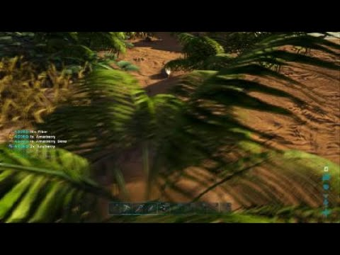 ARK: Survival Evolved 1st Hour: Charature creation and learning controls