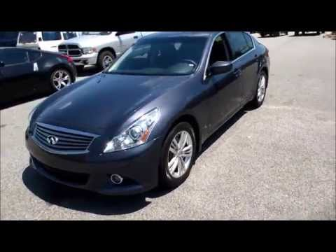 2011 Infiniti G25 Walkaround, Start up, Tour and Overview
