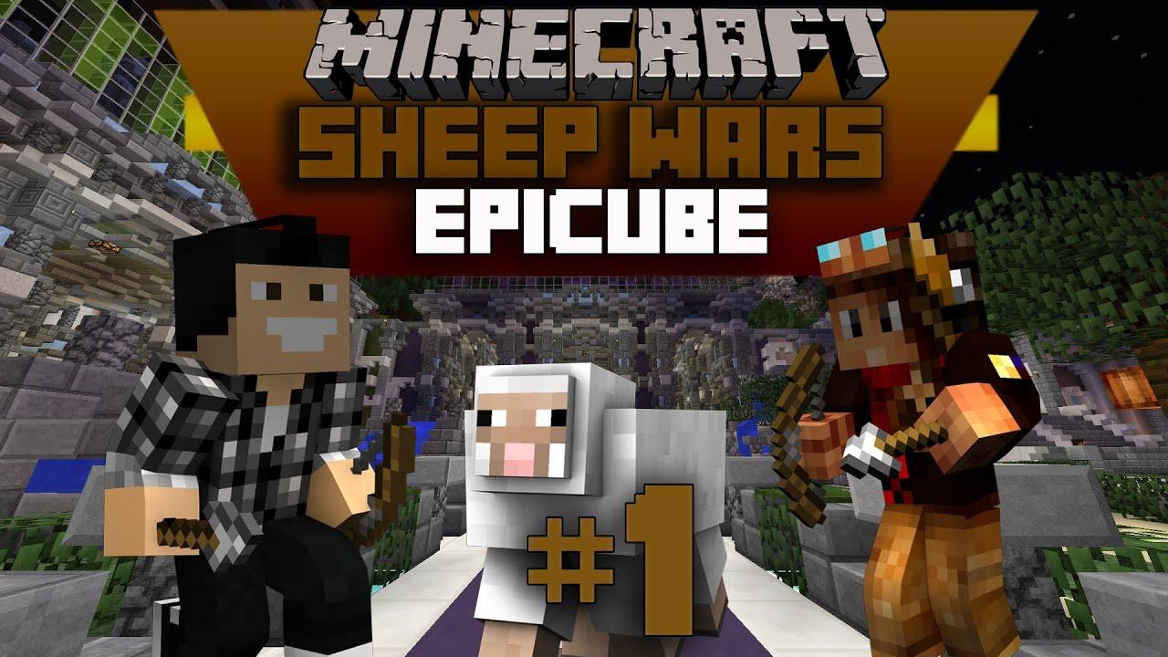 minecraft sheepwars avec furious jumper pas les moutons youtube. Black Bedroom Furniture Sets. Home Design Ideas