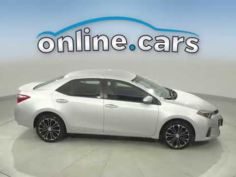 C16811NA Used 2016 Toyota corolla Silver Sedan Test Drive, Review, For Sale
