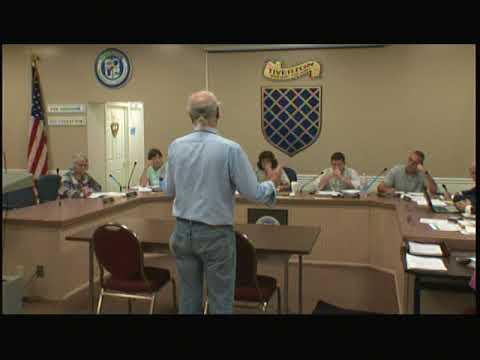 Tiverton Town Council Meeting October 10, 2017