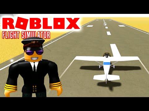 Så LETTER VI! - Roblox Flight Simulator Dansk med ComKean