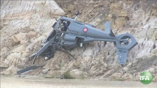 Cambodian Military Helicopter Crash Kills Four