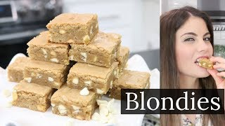 How to Make | Classic Blondie Brownies (Blondies)