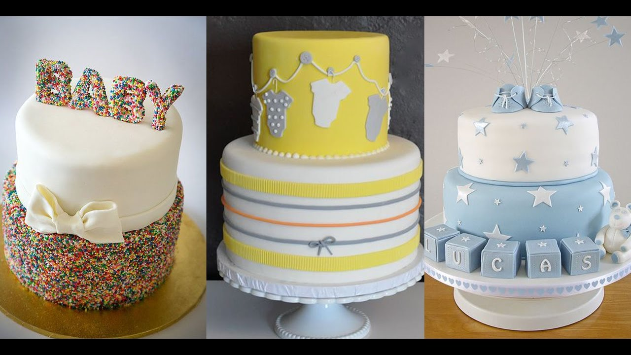 10 Most Amazing Baby Shower Cake Ideas(2017) - YouTube