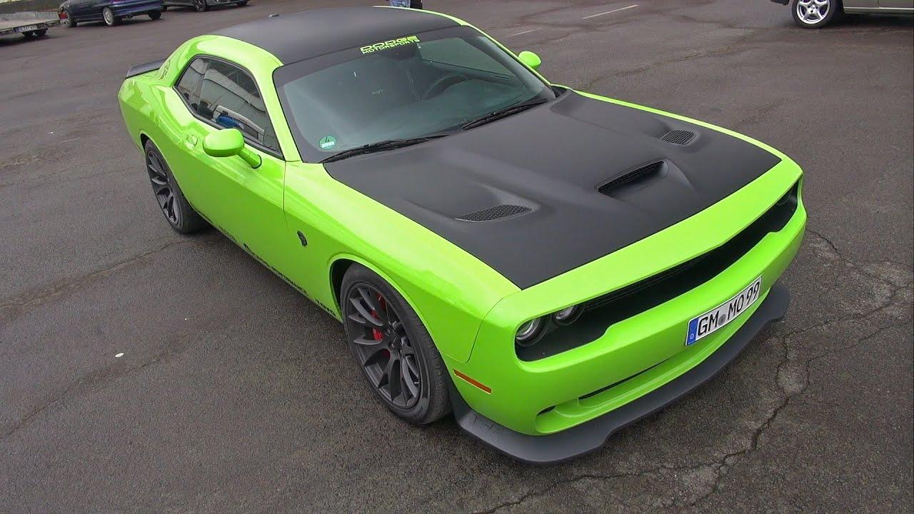 Hellcat Challenger For Sale >> Dodge Challenger SRT Hellcat vs Chevrolet Corvette C7 Z06 vs Nissan GT-R R35 - YouTube