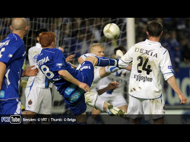 2009-2010 - Jupiler Pro League - PlayOff 1 - 10. AA Gent - Club Brugge 6-2
