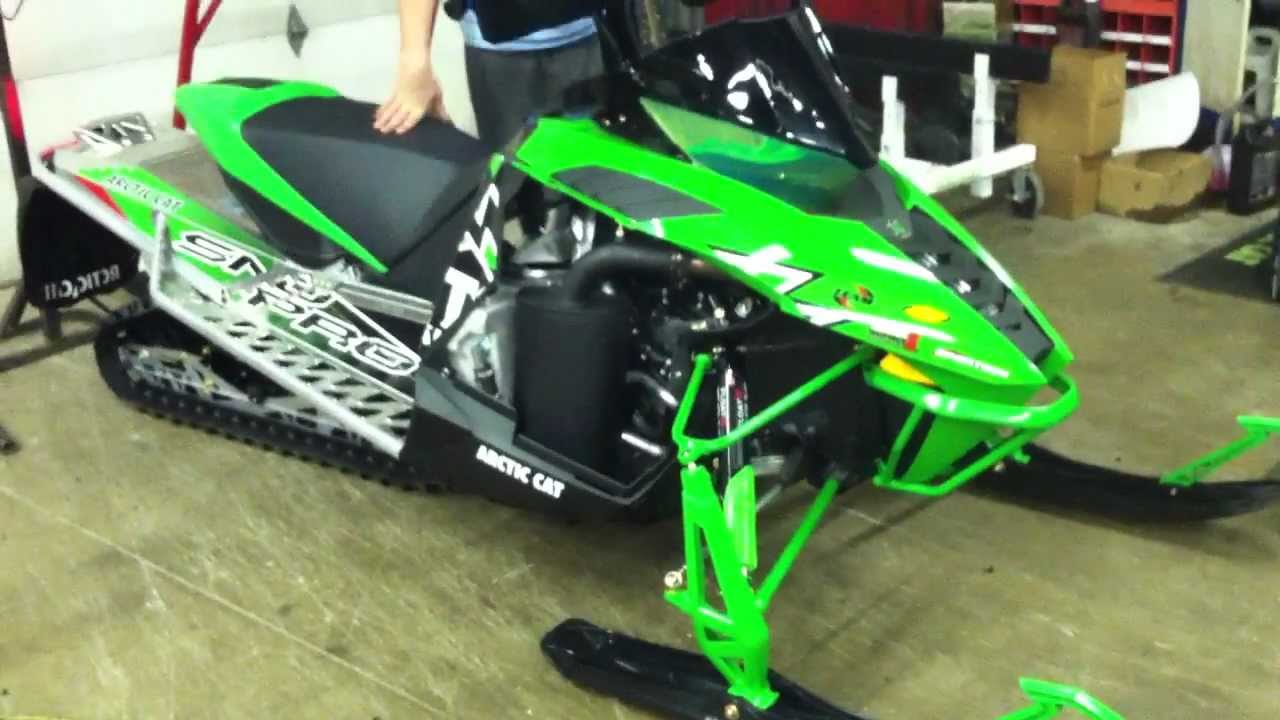 2012 Arctic Cat 1100 Turbo With Vibrant Performance
