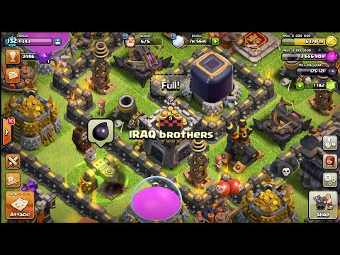 Clash Of Clans - [IRAQ brothers] Vs [IRAQ wars] War Attacks 3 Stars Review