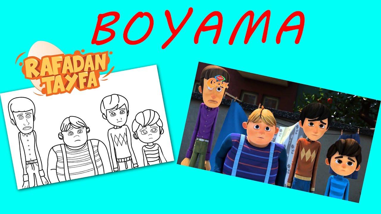 Rafadan Tayfa Boyama Sayfası Youtube