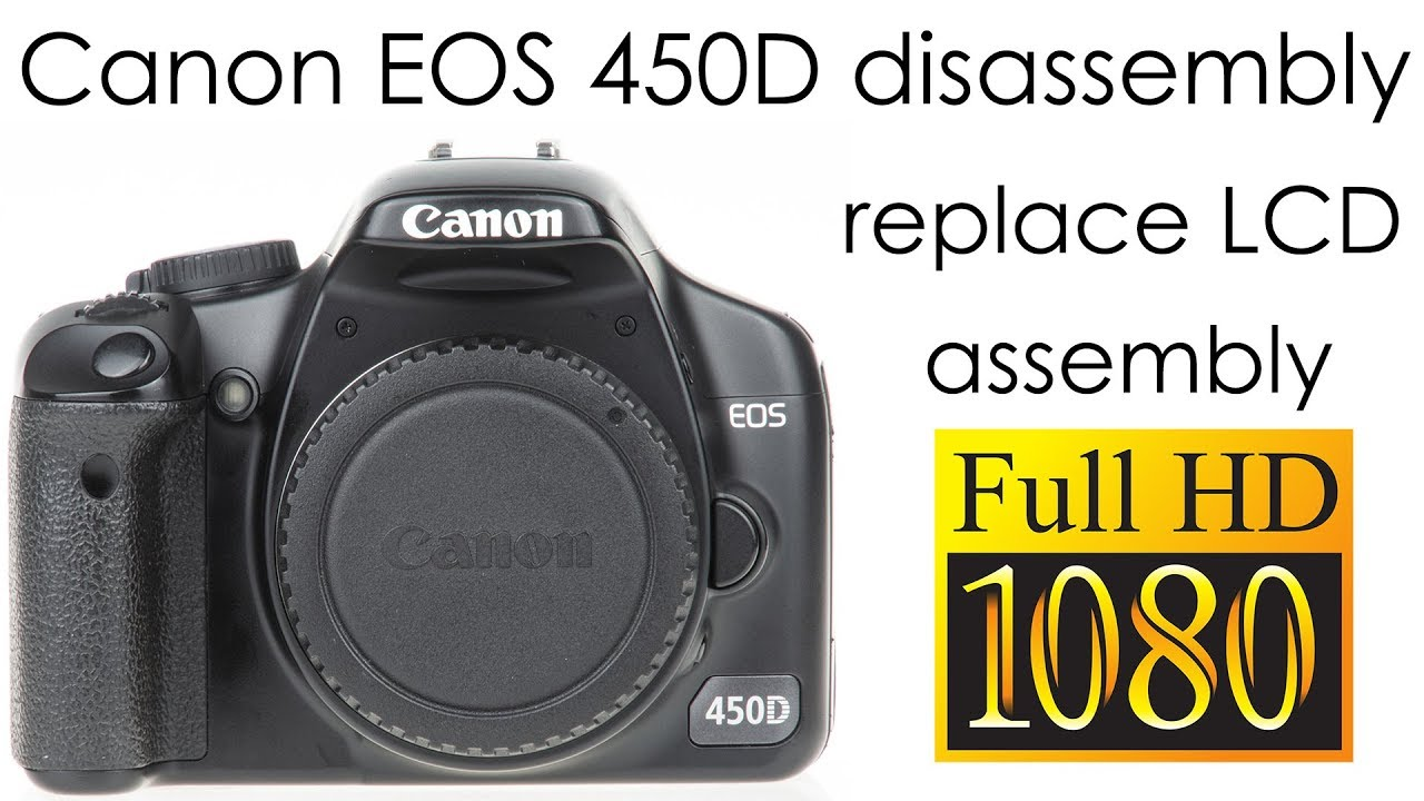 New LCD Display Screen Replacement for Canon EOS 450D Rebel XSi Kiss X2 Part