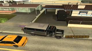 Życie w Las Venturas Dzień #3 - Szalony Przyjaciel, Taksówkarz