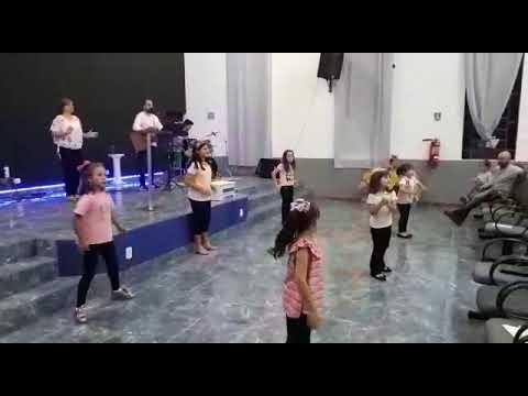Coreografia Eu Te Agradeço Deus Crianças Igreja Batista Nova Aliança De Angatuba - Marcela Xavier