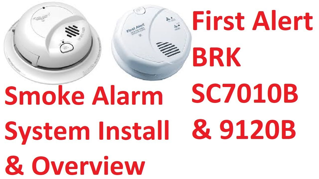 First Alert Smoke Alarm / Carbon Monoxide Alarm System Install and Overview