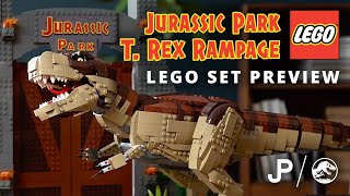 LEGO Jurassic Park T-Rex Rampage 75936 In-Depth Preview / collect jurassic.com
