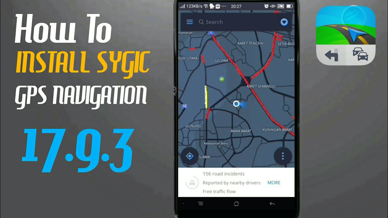 How To Install Sygic Gps Navigation 17 9 3 Maps Real Traffic